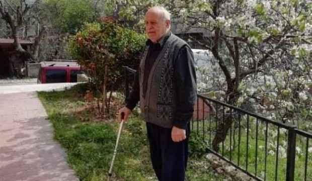 Başı dönen yaşlı adamın acı ölümü