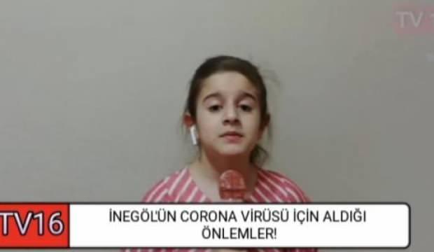 Minik spiker Betül'ün videoları sosyal medyanın gündeminde