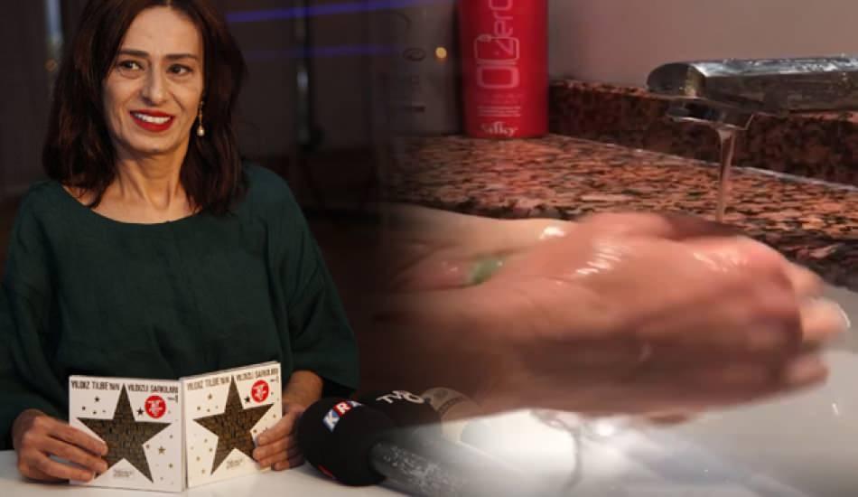 Yıldız Tilbe'nin el yıkama videosu sosyal medyada rekor kırıyor!