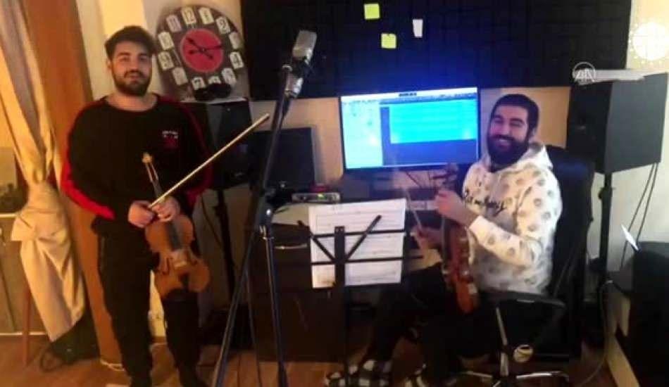 Sanatçılardan 'Hayat Eve Sığar' kampanyasına destek
