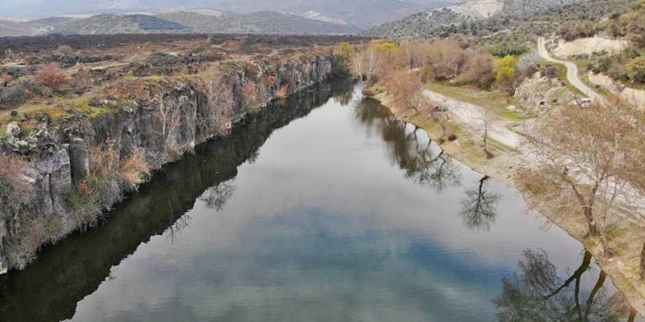 Sönmüş lavların arasındaki eşsiz tarihi güzellik: Adala Kanyonu