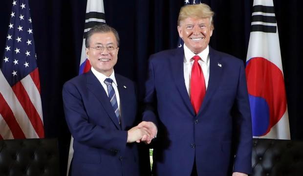 Trump, Güney Kore'den 'virüs tanı kiti' talep etti