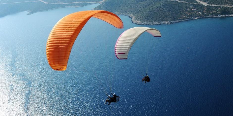 Türkiye'de yamaç paraşütü yapılan yerler