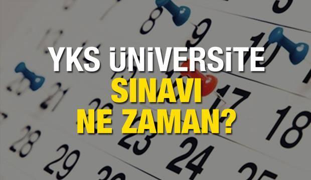 Üniversite sınavı ne zaman yapılacak? 2020 YKS TYT AYT sınav tarihleri!