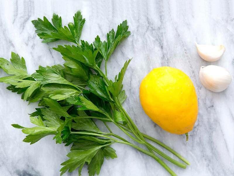 maydanoz sarımsak limon kürü