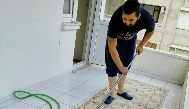'Evde Kal'an erkeklerin ev halleri sosyal medyayı salladı