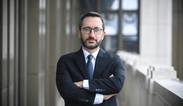 İletişim Başkanı Fahrettin Altun paylaştı: Yolumuz kardeşlik, yönümüz adalet