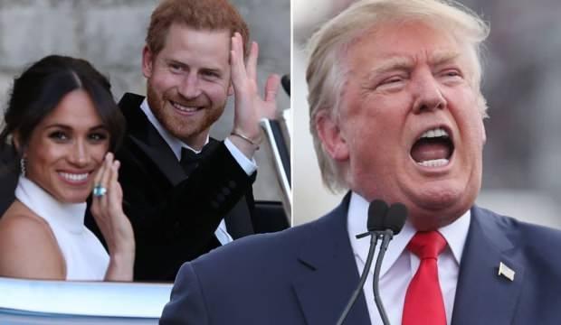 Trump'ın sert sözlerine Prens Harry ve Meghan Markle'dan aynı sertlikte yanıt