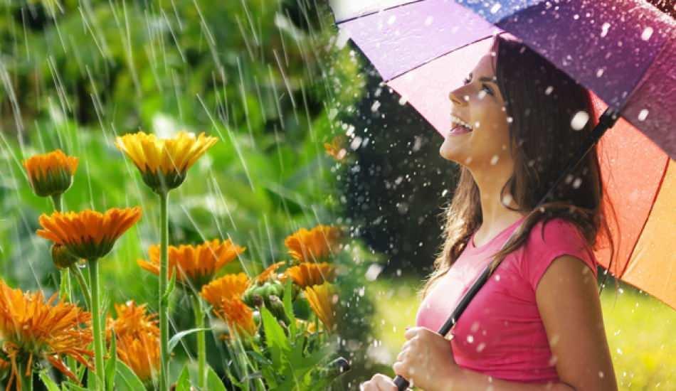 Yağmur suyuna okunacak dualar! Nisan yağmuru şifalı mı? Nisan yağmurunun faydaları