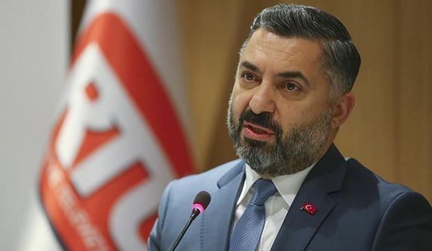 RTÜK Başkanı Şahin'den iddialara tepki!