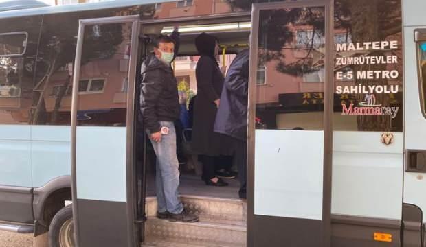 19 yolcu çıkan minibüsün sürücüsü: Binmek için önüme atlıyorlar