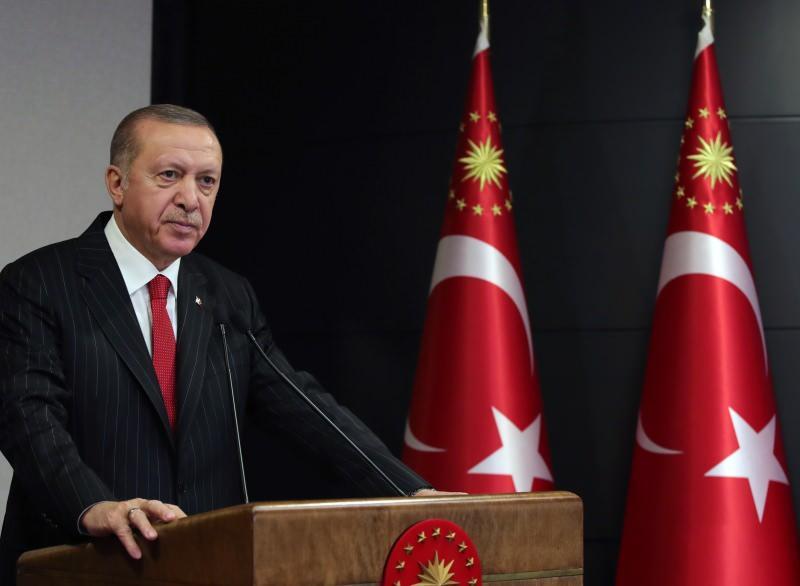 Cumhurbaşkanı Recep Tayyip Erdoğan, kabine toplantısının ardından açıklamalarda bulundu.