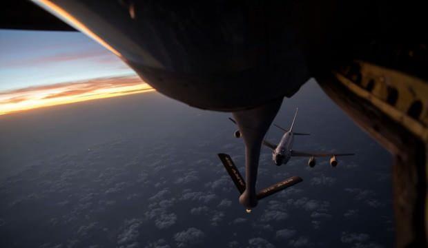 ABD casus uçağı Kore Yarımadası üzerinde görüldü