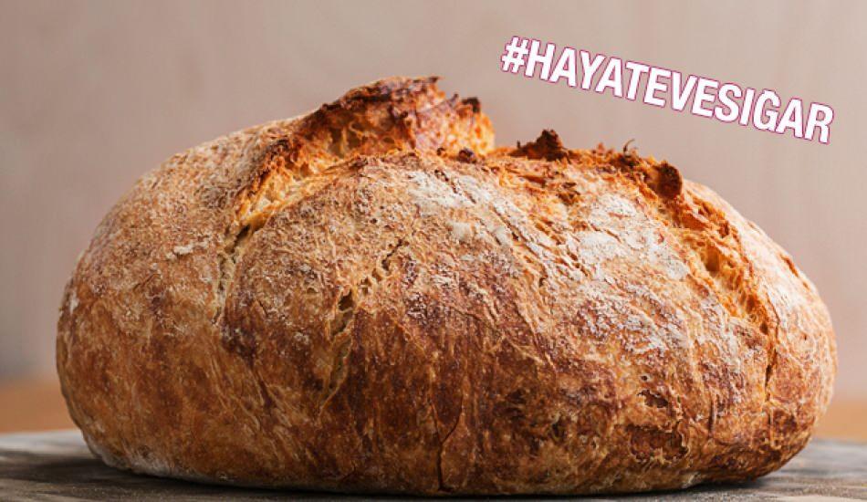 En kolay ekmek nasıl yapılır? Uzun süre bayatlamayan ekmek tarifi.. Tam ölçülü ekmek