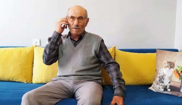 Evden çıkması yasak olan yaşlı adamı böyle dolandırdılar