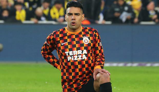 Galatasaray'da Falcao yine yok!
