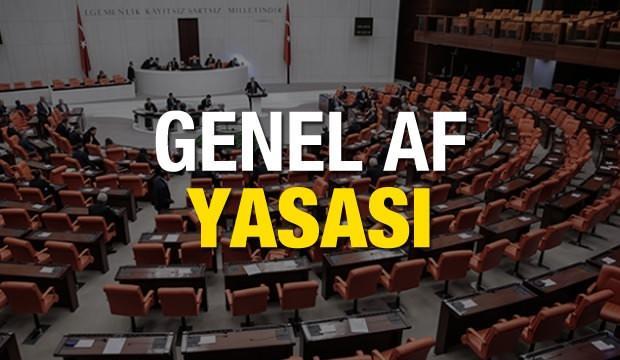 Genel af yasası Meclis'ten geçti mi? Ceza indiriminden kimler yararlanabilecek?