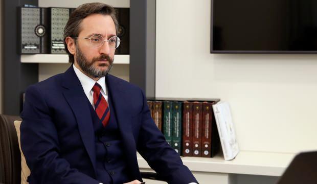 İletişim Başkanı Altun, kampanya ile toplanan rakamı açıkladı