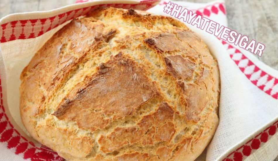 Mayasız ekmek nasıl yapılır? Maya olmadan en kolay ekmek tarifi