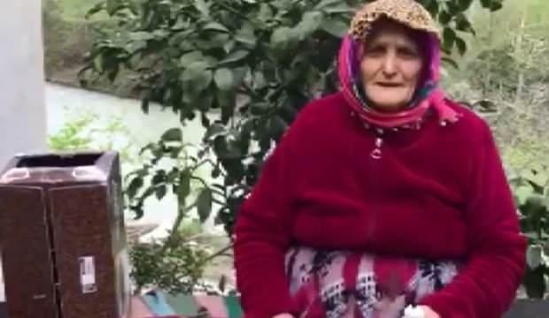 Yaşlı kadınlan anlamlı bağış! Öyle bir şey bağışladı ki...