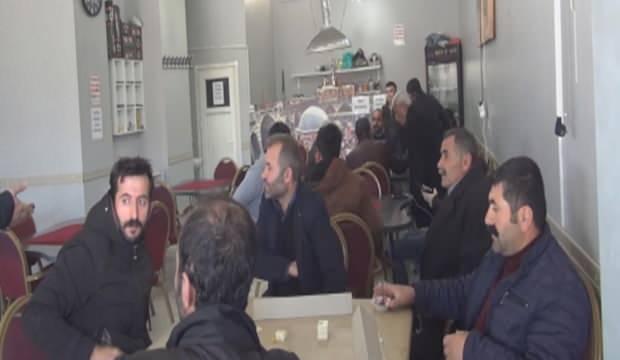 Bahçelievler'de açık kahvehanelere polis baskını