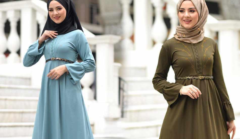 Belinizi ince gösterecek 5 elbise modeli