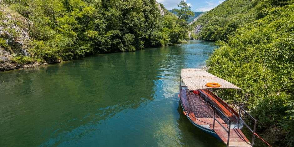 Makedonya'nın inci gibi değerli gezi noktası Matka Kanyonu