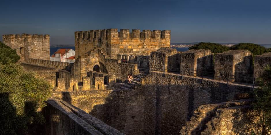M.Ö. 6. yüzyıldan beri Lizbon'u bu tepeden izliyor: Sao Jorge Kalesi