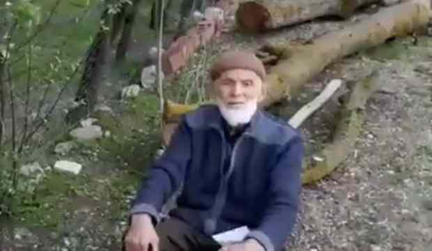 86 yaşındaki Nihat amcadan anlamlı bağış