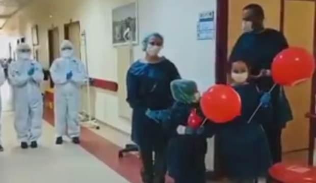 Amasya'da 4 kişilik aile koronayı yendi
