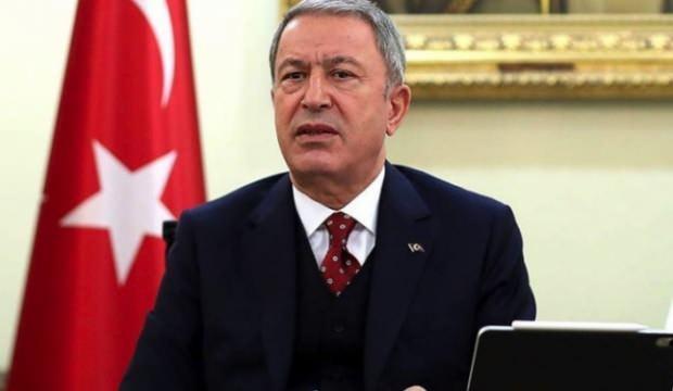 Bakan Akar, Tunuslu mevkidaşı Hazgui ile telefonda görüştü