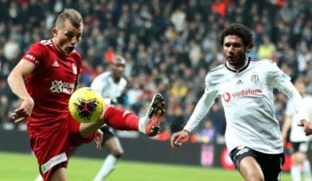 Beşiktaş'ın göndermesine, Sivasspor'dan cevap