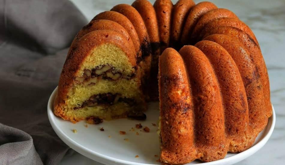En kolay maden sulu sütsüz kek tarifi