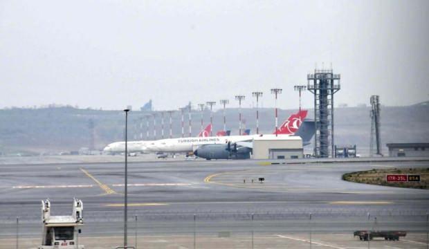 İngiliz Hava Kuvvetleri uçağı, sağlık ekipmanları için İstanbul'a geldi