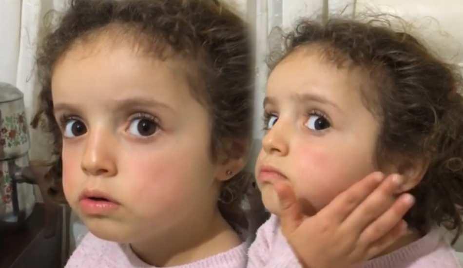Karadenizli fenomen kız Ravzacuk'un 'altın küpe' videosu izleyenlere kahkaha attırdı!