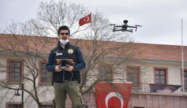 Malatya'da dronlu sokağa çıkma yasağı uyarısı