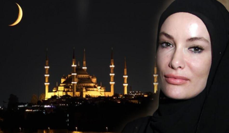 Zeynep Gamze Özçelik'ten Ramazan paylaşımı!