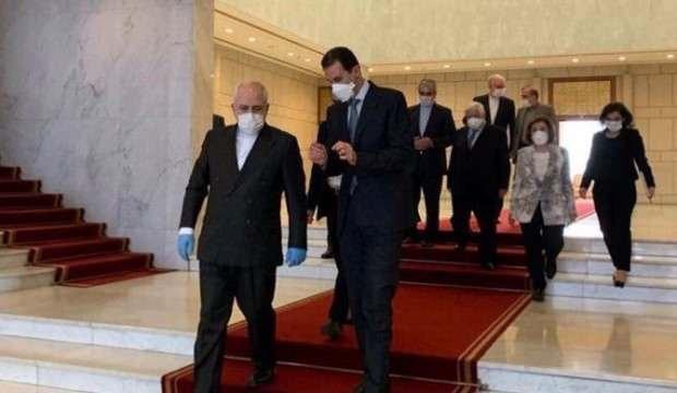 Zarif, Esed ile görüşmek için Suriye'ye gitti