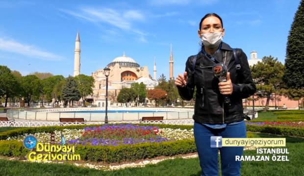 İstanbul'un tarihi bölgeri Dünyayı Geziyorum'da