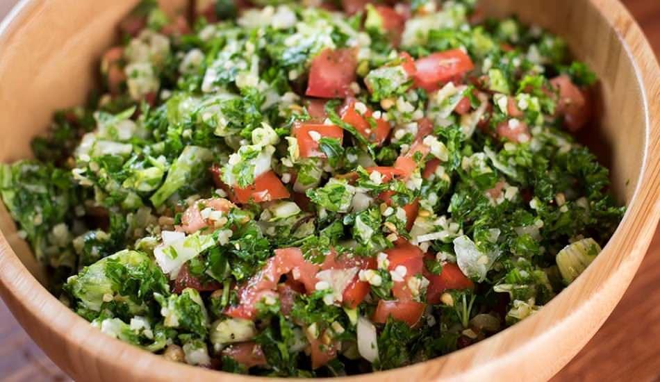 Lübnan salatası nasıl yapılır? Lübnan salatası yapımı...