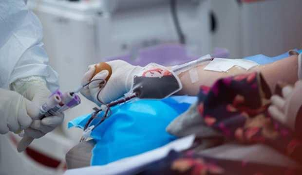"""Şanlıurfa'da Kovid-19 için ilk """"immün plazma"""" bağışı yapıldı"""