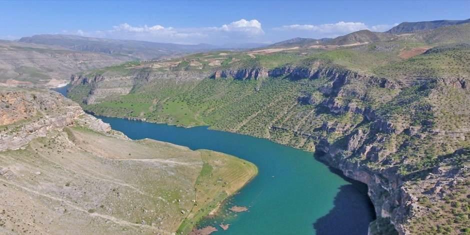 Türkiye'nin en yeni milli parkı Botan Vadisi'nden kartpostallık görüntüler