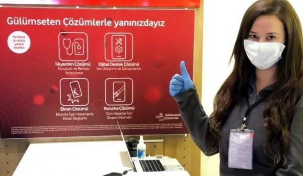 Vodafone evde telefon tamirine başladı