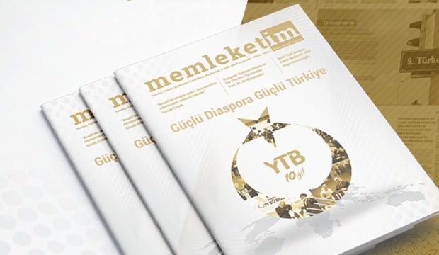 YTB'nin memleketim dergisi okuyucuyla buluştu