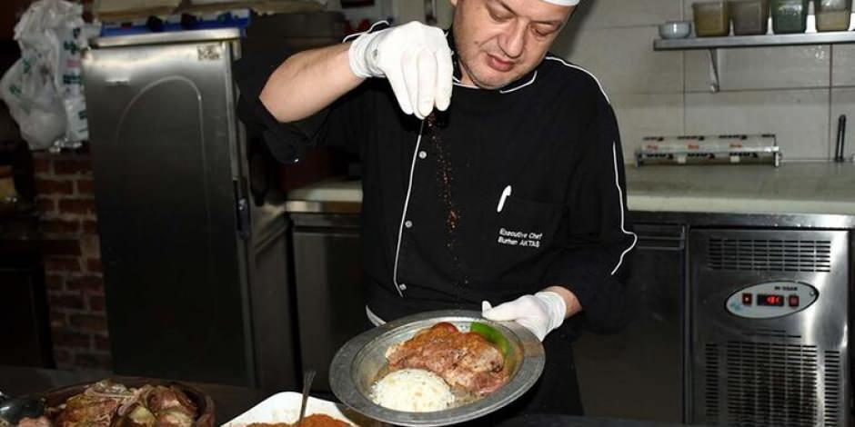 Aksaray'ın damak çatlatan tescilli lezzeti: Tulum kebabı
