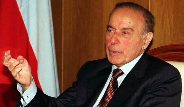 Azerbaycan'ın mimarı Haydar Aliyev, doğumunun 97'nci yılında saygı ve minnetle hatırlanıyor