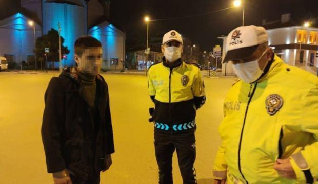 Polisin sokakta durdurduğu gençten şoke eden sözler!