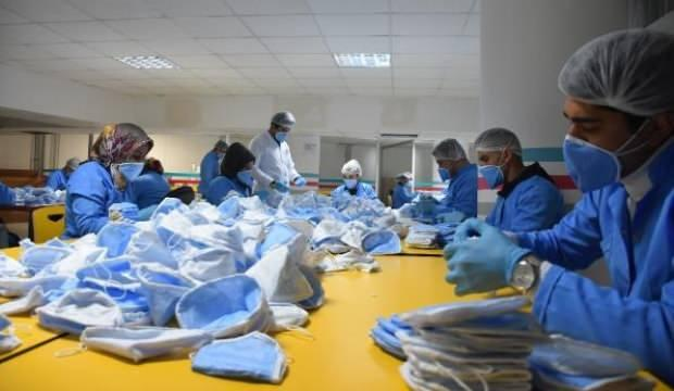 Malatya'da üretilen maske, 1 milyarın üzerinde sipariş aldı