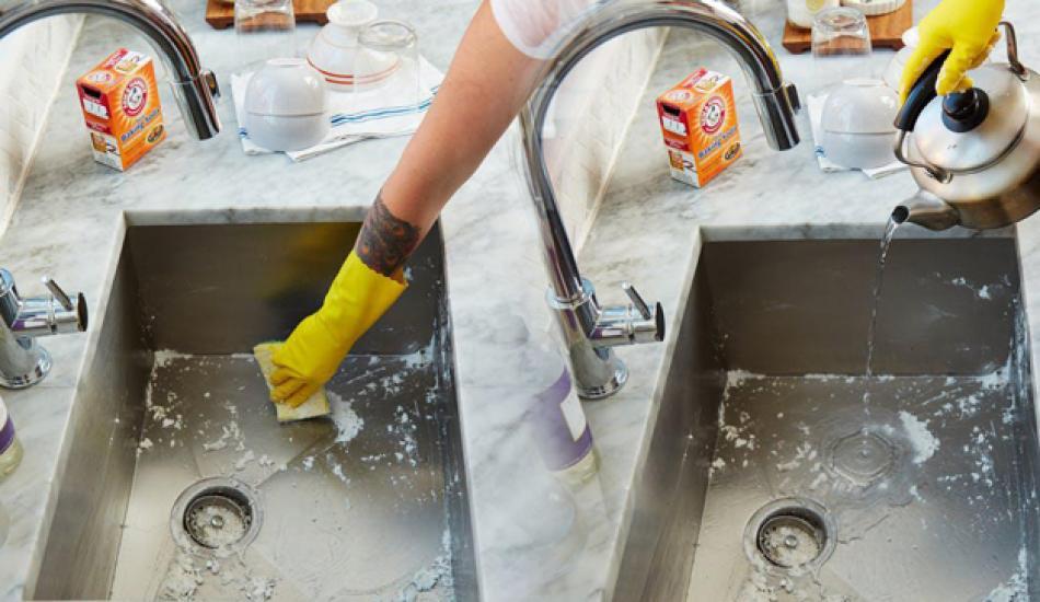 Mutfak lavabosu nasıl temizlenir? Mutfak lavabosunu pırıl pırıl yapan kesin çözüm