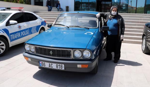 Yozgatlı 67 yaşındaki kadın yılın sürücüsü seçildi!